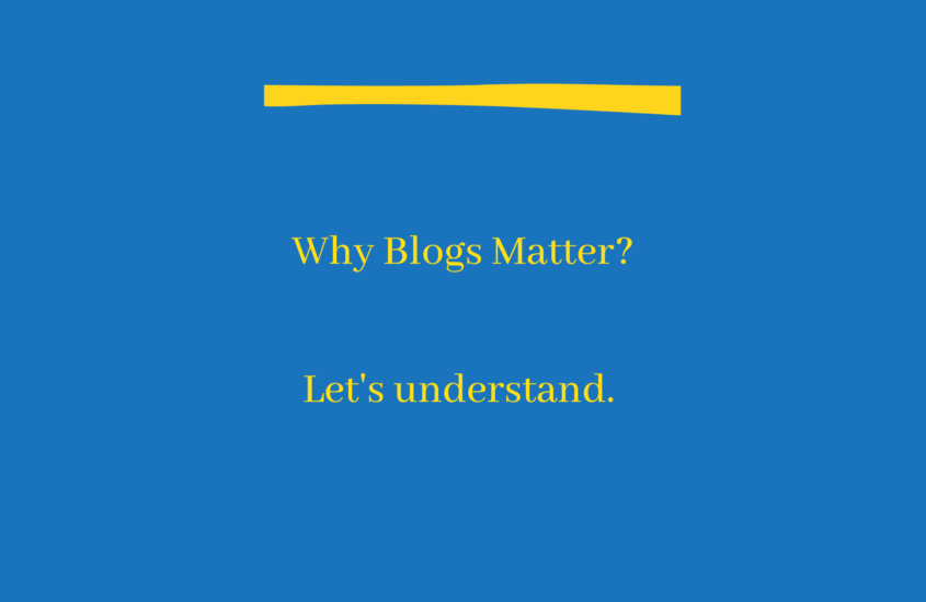 Why blogs are important?